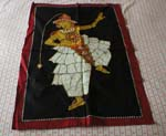 Batik Dancer wallhanging